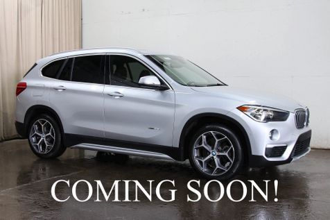 2016 BMW X1 xDrive28i AWD Crossover w/Navigation, Backup Cam, Heated F/R Seats, Panoramic Roof & 18