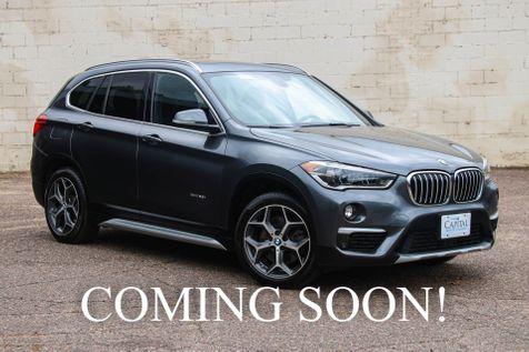 2016 BMW X1 xDrive28i AWD Crossover w/Navigation, Head-Up Display, Backup Cam, Heated Seats & Moonroof in Eau Claire
