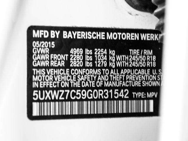 2016 BMW X3 sDrive28i Burbank, CA 28