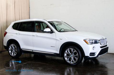 2016 BMW X3 xDrive28d AWD Clean Diesel w/Driver Assist Plus, Cold Weather Pkg, Tech Pkg & Gets 34MPG in Eau Claire