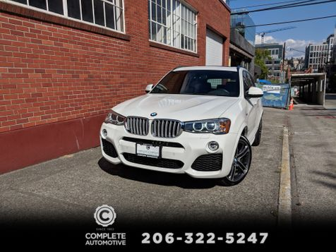 2016 BMW X3 xDrive35i 11,000 Mile 1 Owner M Sport Dynamic Handling Drive Assist Tech Cold Weather Packages  in Seattle