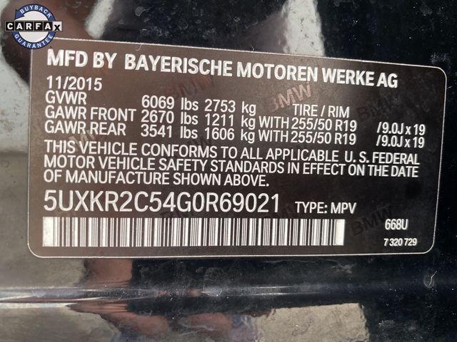 2016 BMW X5 sDrive35i sDrive35i Madison, NC 46