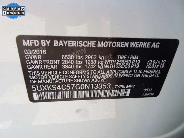 2016 BMW X5 xDrive35d xDrive35d Madison, NC 57