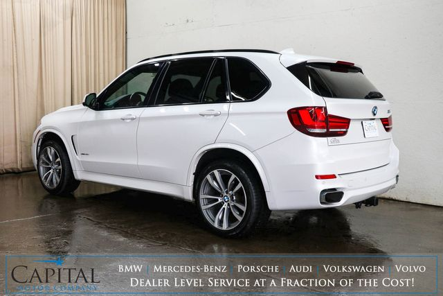 """2016 BMW X5 xDrive35i AWD Luxury SUV with M-Sport Pkg, Nav, 360º Cam, Panoramic Roof & 20"""" Wheel Pkg in Eau Claire, Wisconsin 54703"""