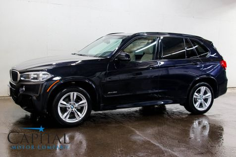 2016 BMW X5 xDrive35i AWD M-Sport with Head-Up Display, Navigation, Adaptive Cruise & Heated/Cooled Seats in Eau Claire