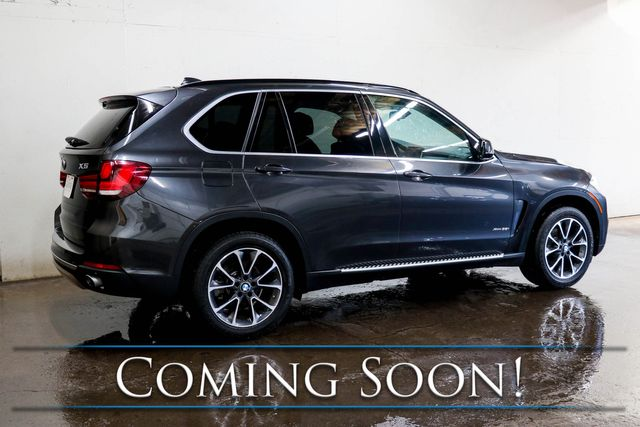 2016 BMW X5 xDrive35i AWD Luxury SUV w/Nav, Backup Cam, Heated Seats and Panoramic Roof in Eau Claire, Wisconsin 54703