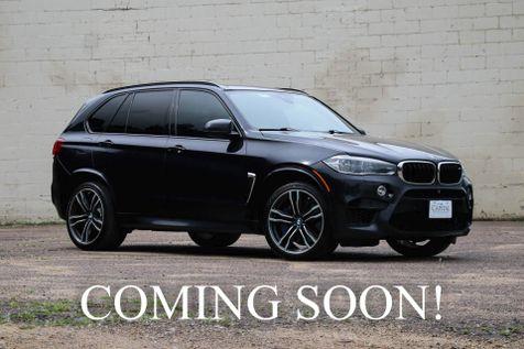 2016 BMW X5 M xDrive AWD w/567HP V8, Executive Pkg, LED Head Lights, Bang & Olufsen Audio & 21