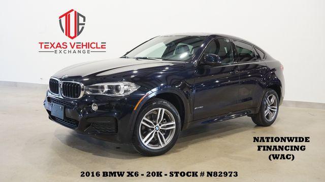 2016 BMW X6 xDrive35i SUNROOF,NAV,BACK-UP,HTD/COOL LTH,20K