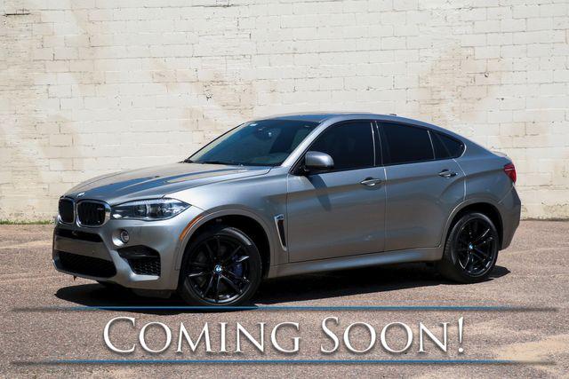 "2016 BMW X6M xDrive AWD V8 Sport SUV w/Executive Pkg, LED Headlights, Ventilated Seats, B&O Audio & 21"" Rims"