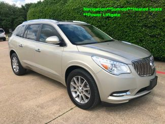2016 Buick Enclave Leather w/Navigation**Sunroof**Rear Captain Seats in Plano, Texas 75074