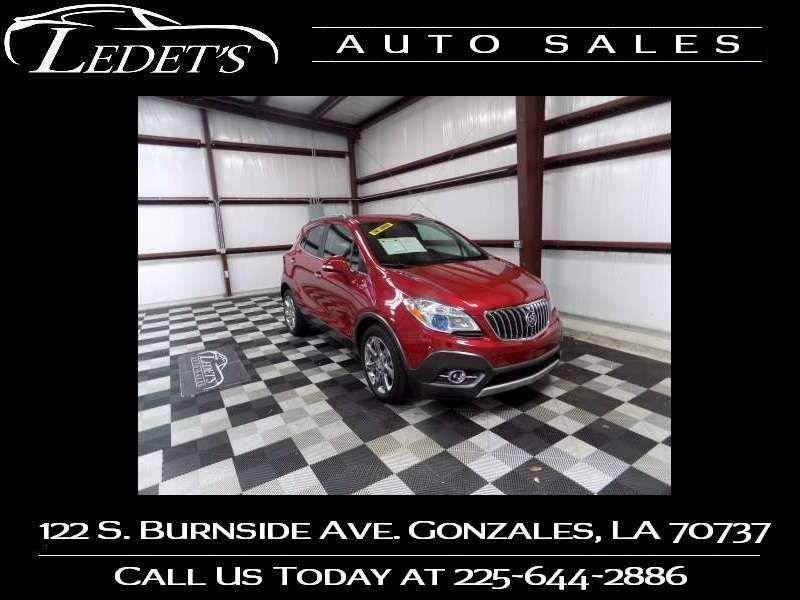 2016 Buick Encore Leather - Ledet's Auto Sales Gonzales_state_zip in Gonzales Louisiana