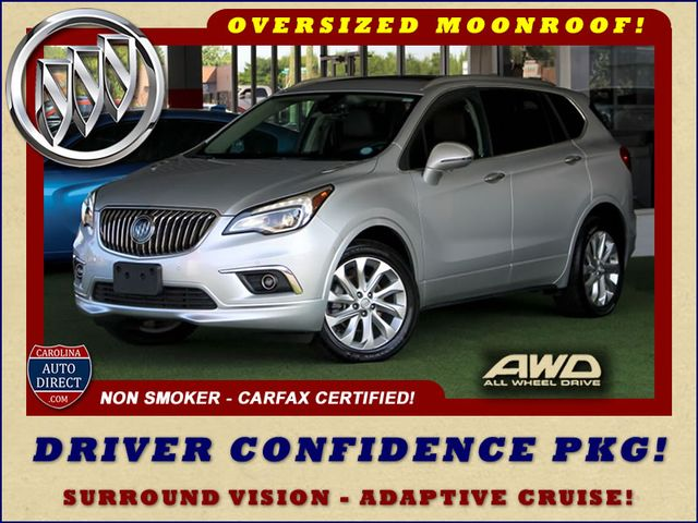 2016 Buick Envision Premium II AWD - DRIVER CONFIDENCE PKG - SUNROOFS! Mooresville , NC