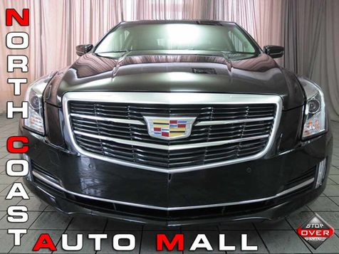 2016 Cadillac ATS Coupe Luxury Collection AWD in Akron, OH
