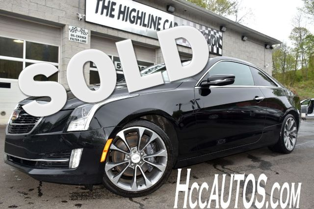 2016 Cadillac ATS Coupe Luxury Collection AWD Waterbury, Connecticut