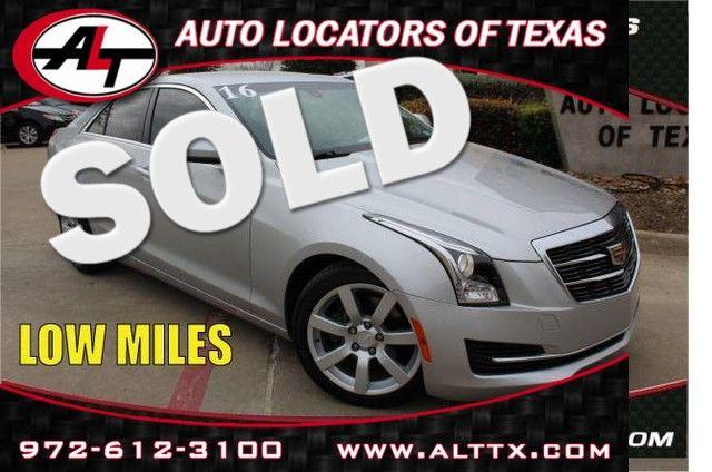 2016 Cadillac ATS in Plano TX