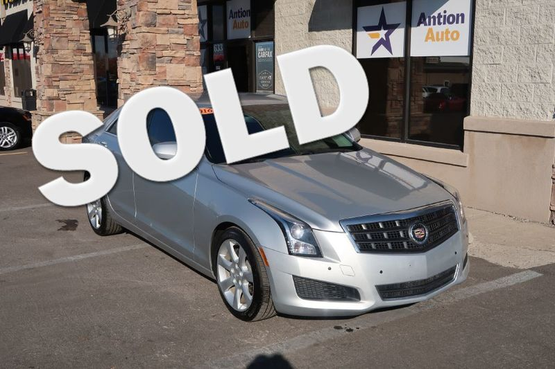 2016 Cadillac ATS Sedan Standard RWD | Bountiful, UT | Antion Auto in Bountiful UT