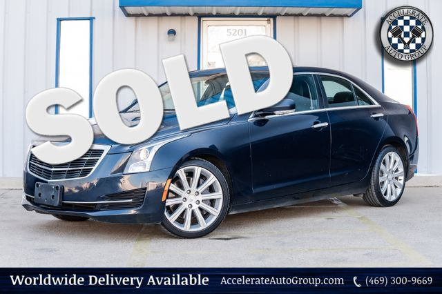 2016 Cadillac ATS Sedan LUXURY COLLECTION NAV LOADED 1 OWNER CLEAN CARFAX in Rowlett