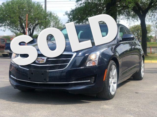 2016 Cadillac ATS Sedan Standard RWD in San Antonio, TX 78233