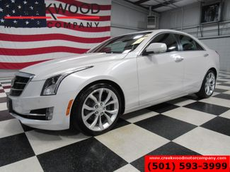 2016 Cadillac ATS Sedan Performance Collection White Low Miles Nav Sunroof in Searcy, AR 72143
