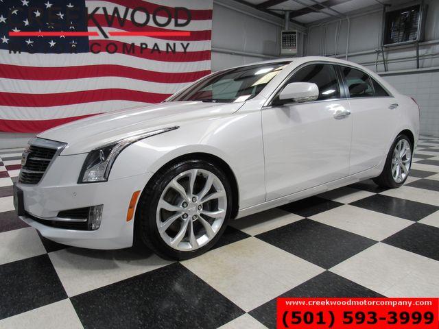 2016 Cadillac ATS Sedan Performance Collection White Low Miles Nav Sunroof