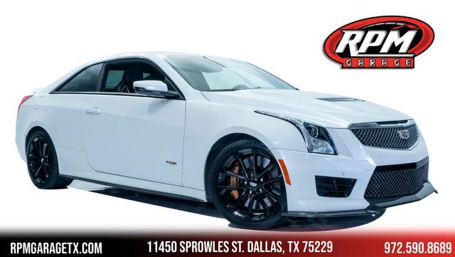 2016 Cadillac ATS-V with Carbon Fiber Pkg in Dallas, TX 75229