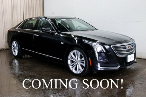 2016 Cadillac CT6 Platinum 3.0TT AWD w/Dual DVD Entertainment,  NAVI, 34-Speaker BOSE Audio & Heated/Cooled Seats in Eau Claire