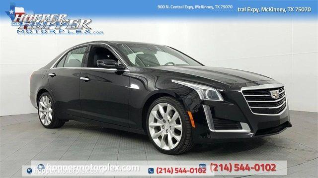 2016 Cadillac CTS 2.0L Turbo Premium