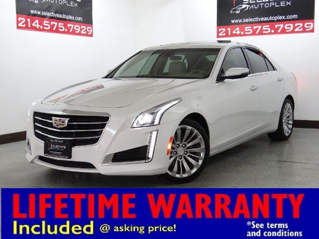 2016 Cadillac CTS Sedan Luxury Collection RWD, NAV, REMOTE START
