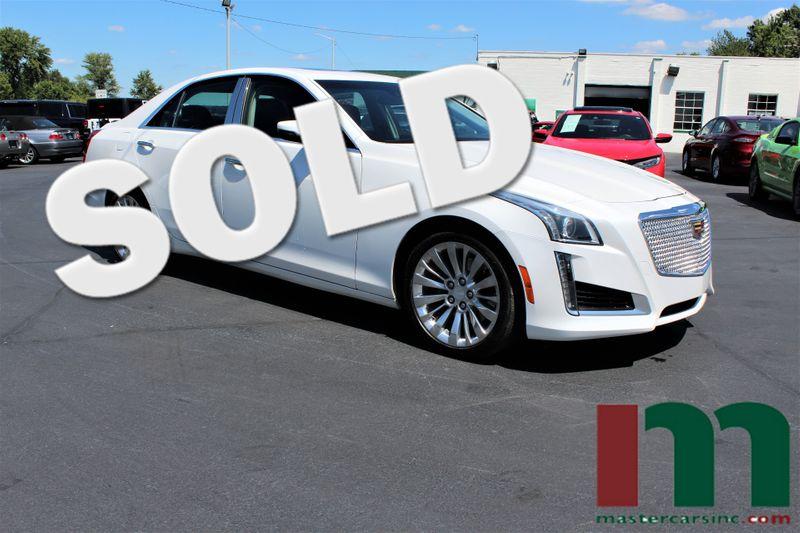 2016 Cadillac CTS Sedan Luxury Collection AWD | Granite City, Illinois | MasterCars Company Inc. in Granite City Illinois