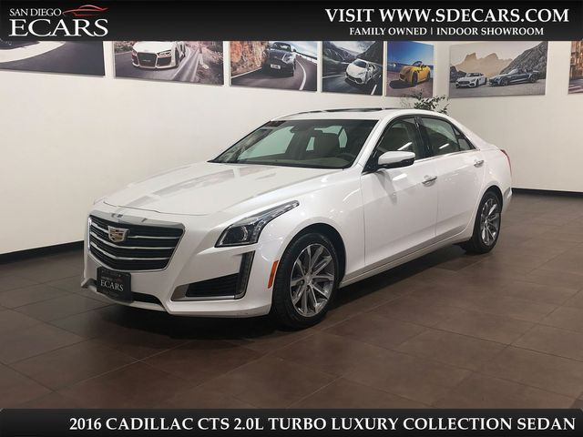2016 Cadillac CTS Sedan Luxury Collection RWD in San Diego, CA 92126