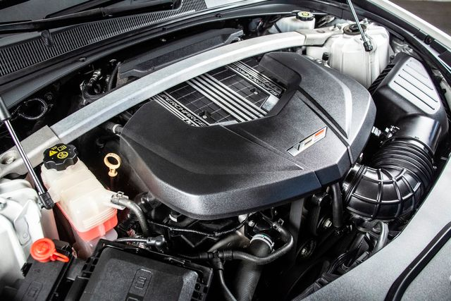 2016 Cadillac CTS-V Fully Loaded With Carbon Fiber Pkg in Addison, TX 75001
