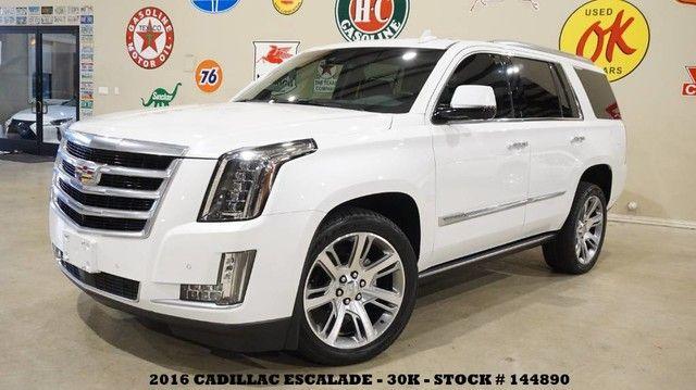 2016 Cadillac Escalade Premium HUD,ROOF,NAV,360 CAM,REAR DVD,QUADS,22'...