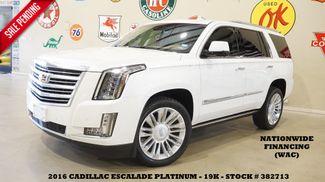 2016 Cadillac Escalade Platinum HUD,ROOF,NAV,360 CAM,REAR DVD,22'S,19K in Carrollton TX, 75006