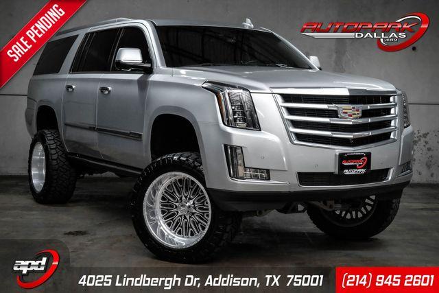 2016 Cadillac Escalade ESV Premium Collection w/ Lift & American Force Wheels in Addison, TX 75001