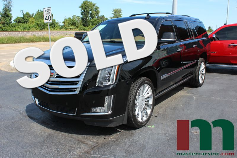 2016 Cadillac Escalade ESV Platinum | Granite City, Illinois | MasterCars Company Inc. in Granite City Illinois