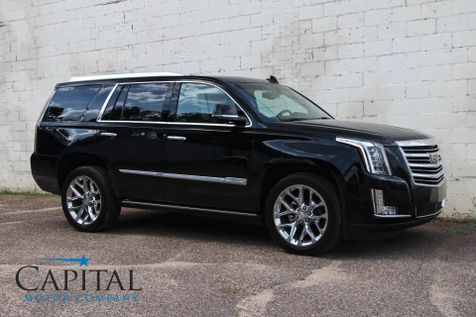 2016 Cadillac Escalade Platinum AWD w/Navigation, 360º Camera, Dual DVD System, Driver Assist Pkg & 22