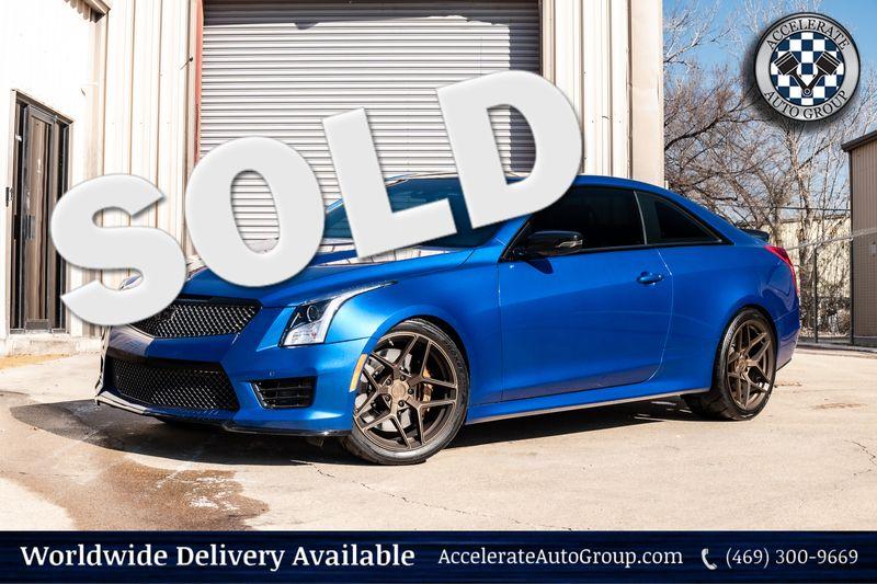 2016 Cadillac V-Series UPGRADES NAV 3.73 REAR END CLEAN CARFAX BOSE SOUND in Rowlett Texas
