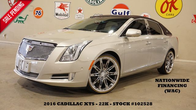 2016 Cadillac XTS Luxury ULTRA ROOF,NAV,360 CAM,CHROME 20'S,22K