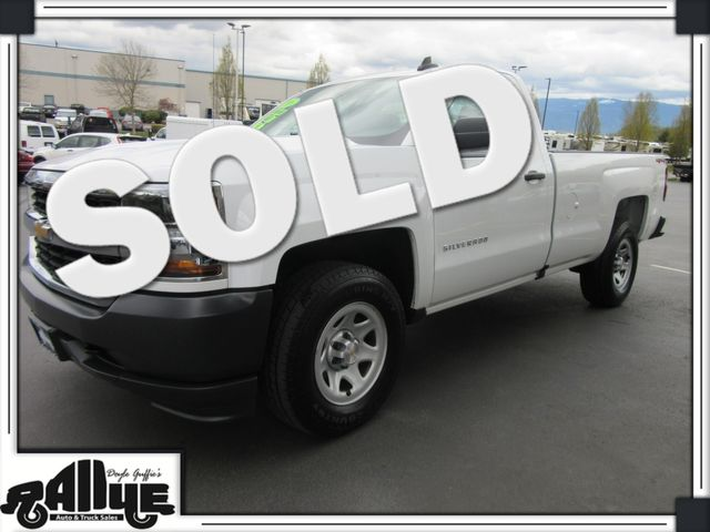 2016 Chevrolet 1500 Silverado LS 4WD in Burlington, WA 98233