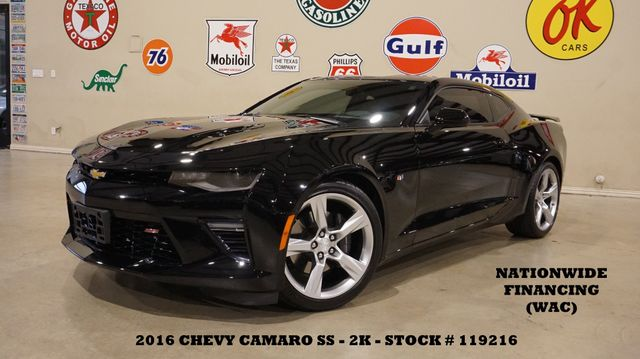 2016 Chevrolet Camaro SS Coupe AUTO,HUD,NAV,BACK-UP,HTD/COOL LTH,2K