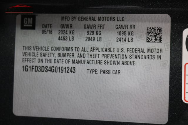 2016 Chevrolet Camaro LT Merrillville, Indiana 49