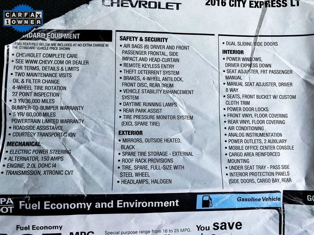 2016 Chevrolet City Express Cargo Van LT Madison, NC 14