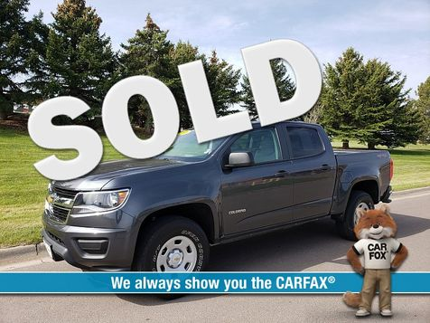 2016 Chevrolet Colorado 4WD Crew Cab WT in Great Falls, MT