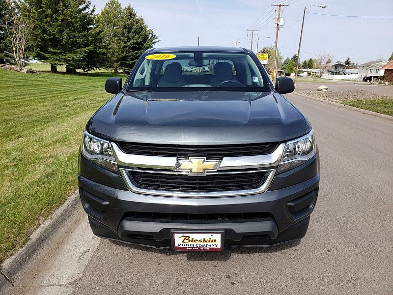 2016 Chevrolet Colorado 4WD Crew Cab WT  city MT  Bleskin Motor Company   in Great Falls, MT