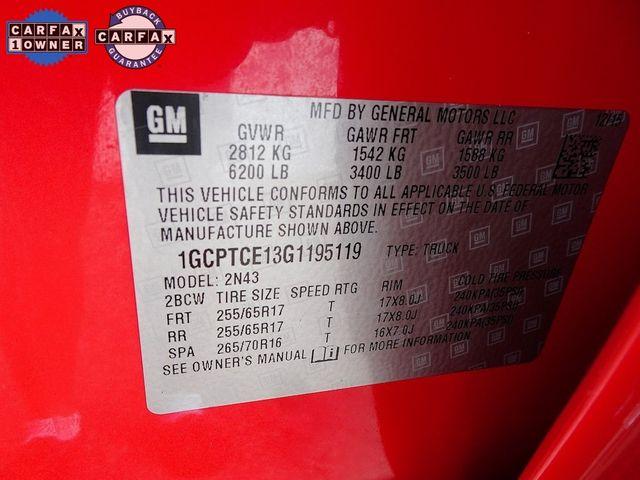 2016 Chevrolet Colorado 4WD LT Madison, NC 51