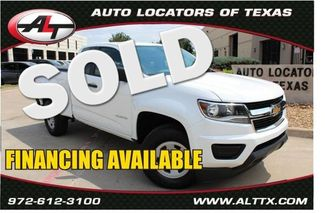 2016 Chevrolet Colorado W/T   Plano, TX   Consign My Vehicle in  TX
