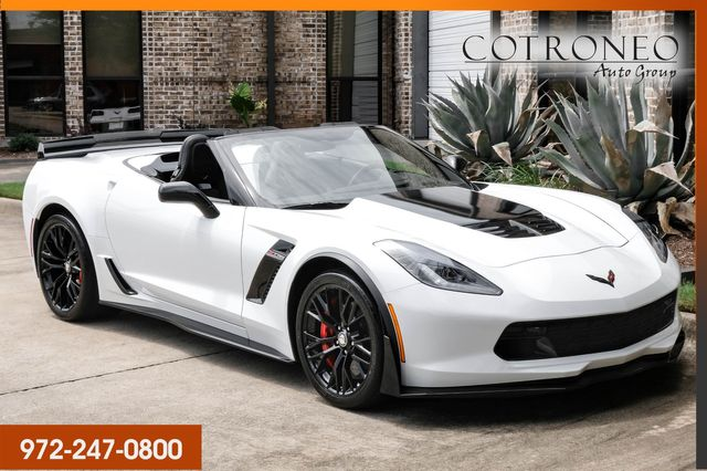 2016 Chevrolet Corvette Z06 3LZ Convertible with Z07 Package