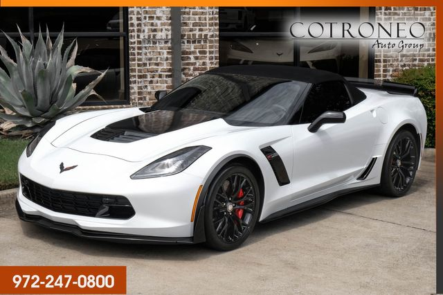 2016 Chevrolet Corvette Z06 3LZ Convertible with Z07 Package in Addison, TX 75001