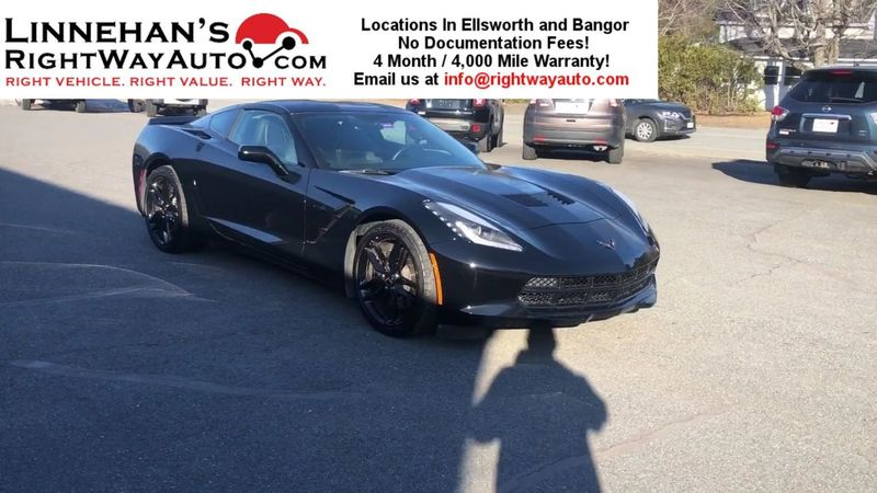 2016 Chevrolet Corvette Z51 1LT  in Bangor, ME