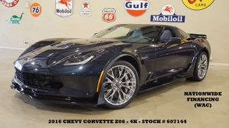 2016 Chevrolet Corvette Z06 3LZ AUTO,Z07 PKG,MSRP 109K,CHROME WHLS,4K in Carrollton, TX 75006